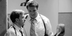 "Nathan and Tom Lenk as the bumbling cops in ""Much Ado."""